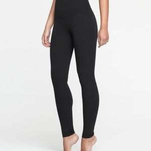 Yummie legging with tummy tuck panels black XL